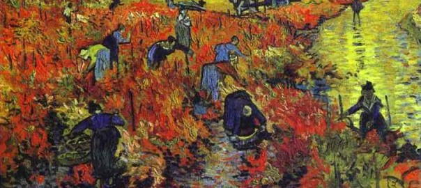 Red Vineyards Near Arles by Vincent Van Gogh